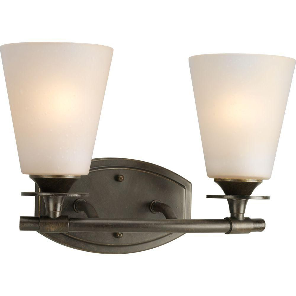 Cantata Collection Forged Bronze 2-light Wall Bracket